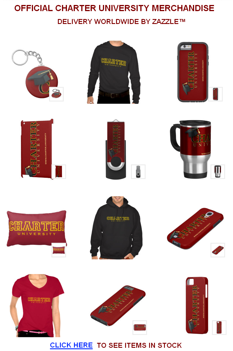 Check the latest Charter Merchandise in stock at Zazzle